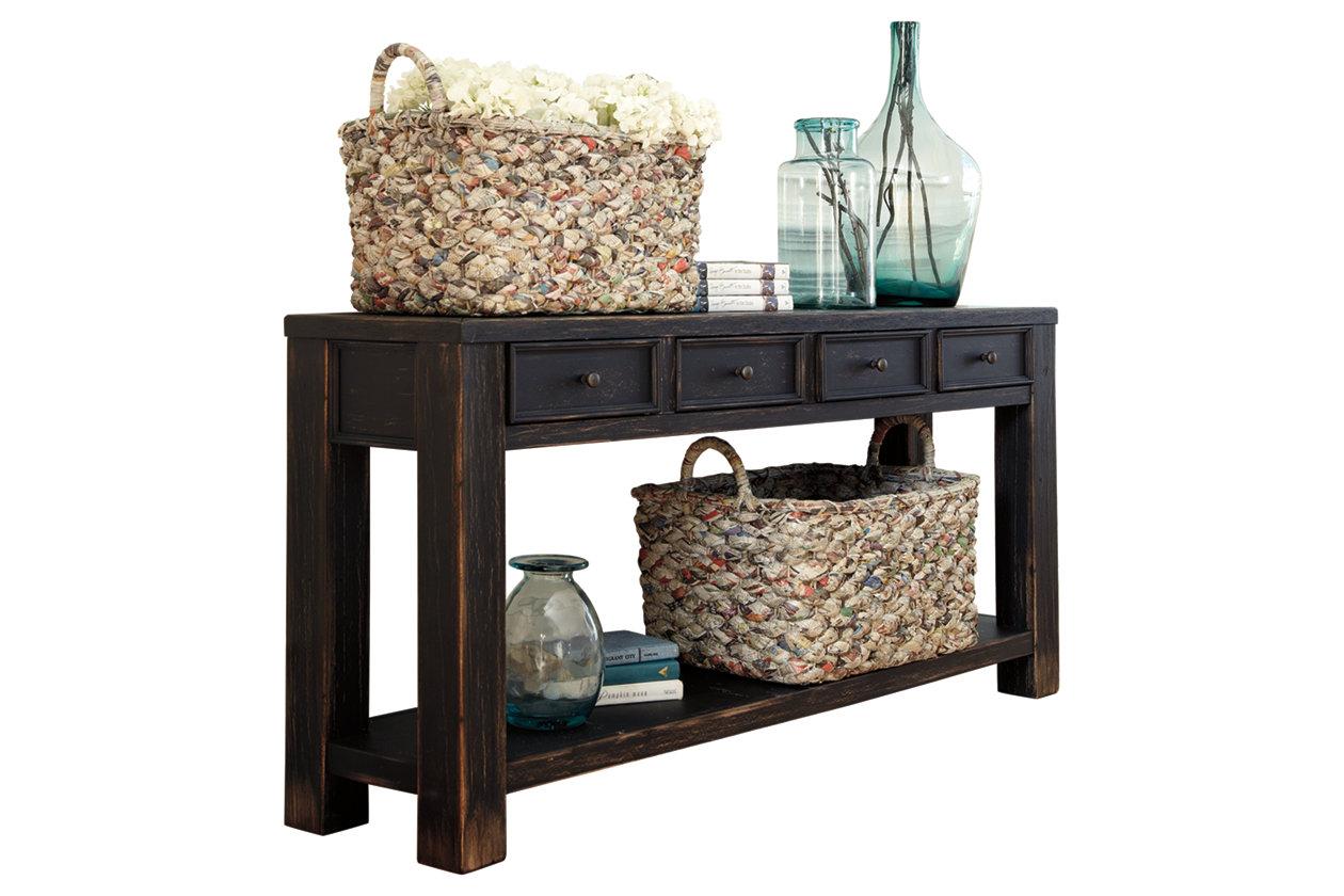 Ashley Furniture Sofa Table Gavelston Black T732 4 64 W