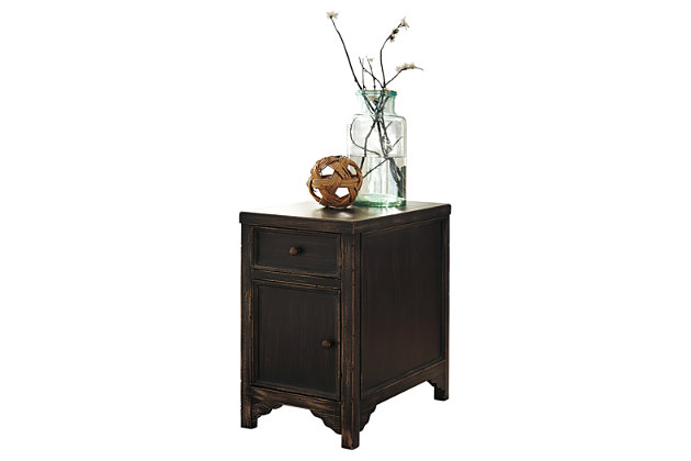 Gavelston Chairside End Table, , large