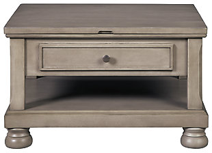 Lettner Coffee Table with Lift Top, , large