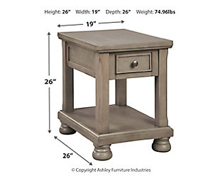 Lettner End Table, , large