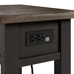 Tyler Creek Chairside End Table, , large
