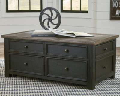 Tyler Creek Coffee Table with Lift Top, , large