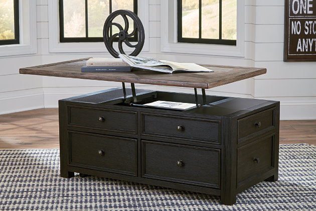 Tyler Creek Coffee Table With Lift Top Ashley Furniture