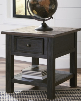 End Table Grayish Brown Black Creek Product Photo 2606