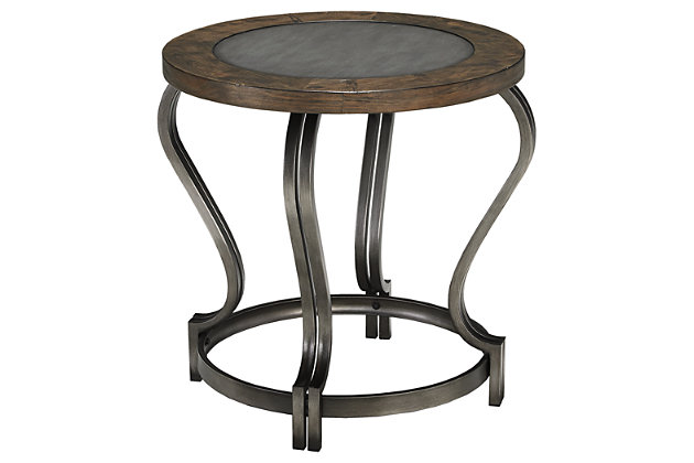Volanta End Table by Ashley HomeStore, Brown