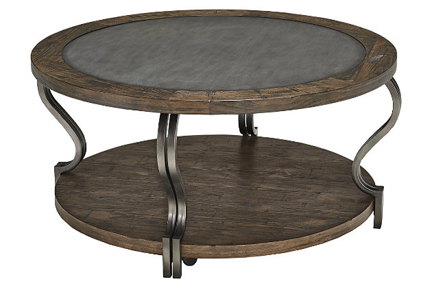 Volanta Coffee Table by Ashley HomeStore, Brown