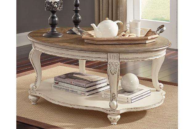Realyn Coffee Table Ashley Furniture Homestore