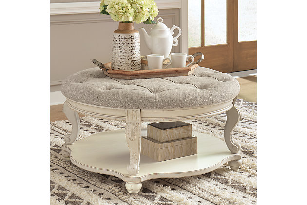 Realyn Coffee Table with 1 End Table, , large