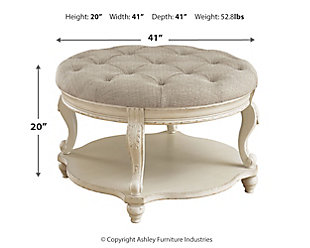 Realyn Ottoman Coffee Table, , large