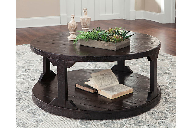 Rogness Coffee Table Ashley Furniture HomeStore - Ashley furniture oval coffee table