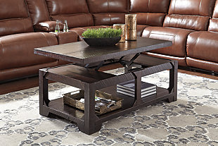 Rogness Coffee Table with Lift Top, , rollover