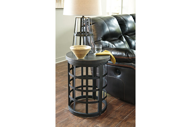 Black Marimon End Table by Ashley HomeStore
