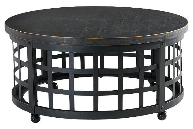 Marimon Coffee Table by Ashley HomeStore, Black