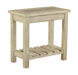 Veldar Chairside End Table, , large