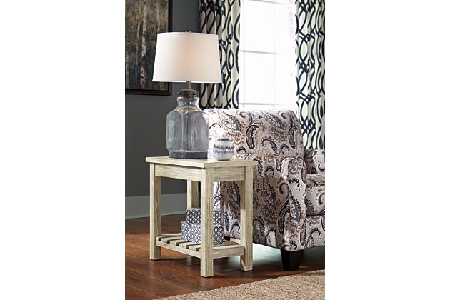 veldar chairside end table ashley furniture homestore