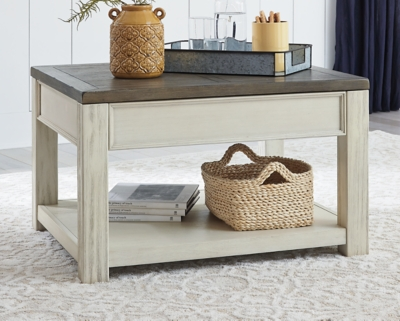 Bolanburg Coffee Table with Lift Top, , large