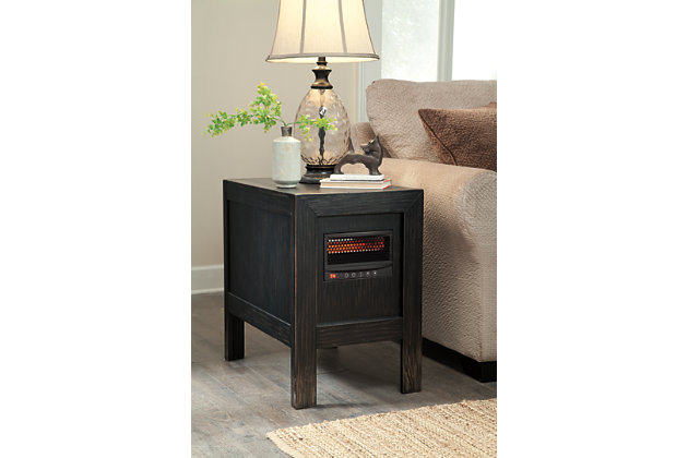 Information about Gavelston Chairside End Table Heater Product Photo
