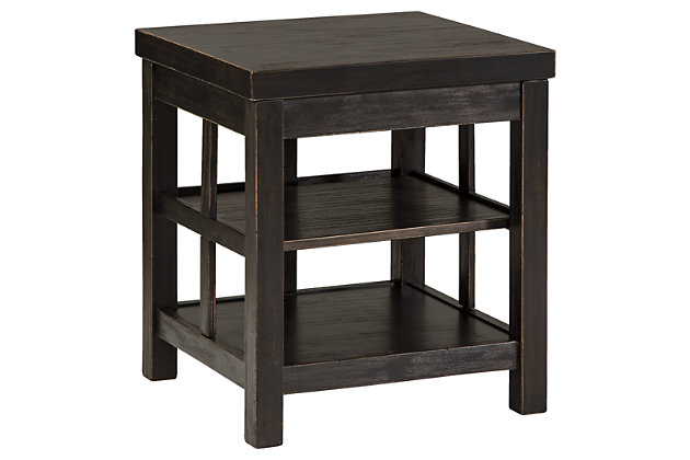 Gavelston End Table by Ashley HomeStore, Black