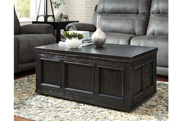 Gavelston Coffee Table With Lift Top Ashley Furniture Homestore