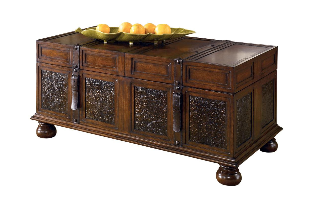 Super Mckenna Coffee Table With Storage Ashley Furniture Homestore Interior Design Ideas Gentotryabchikinfo