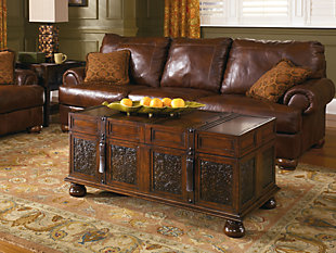 McKenna Coffee Table With Storage, , large