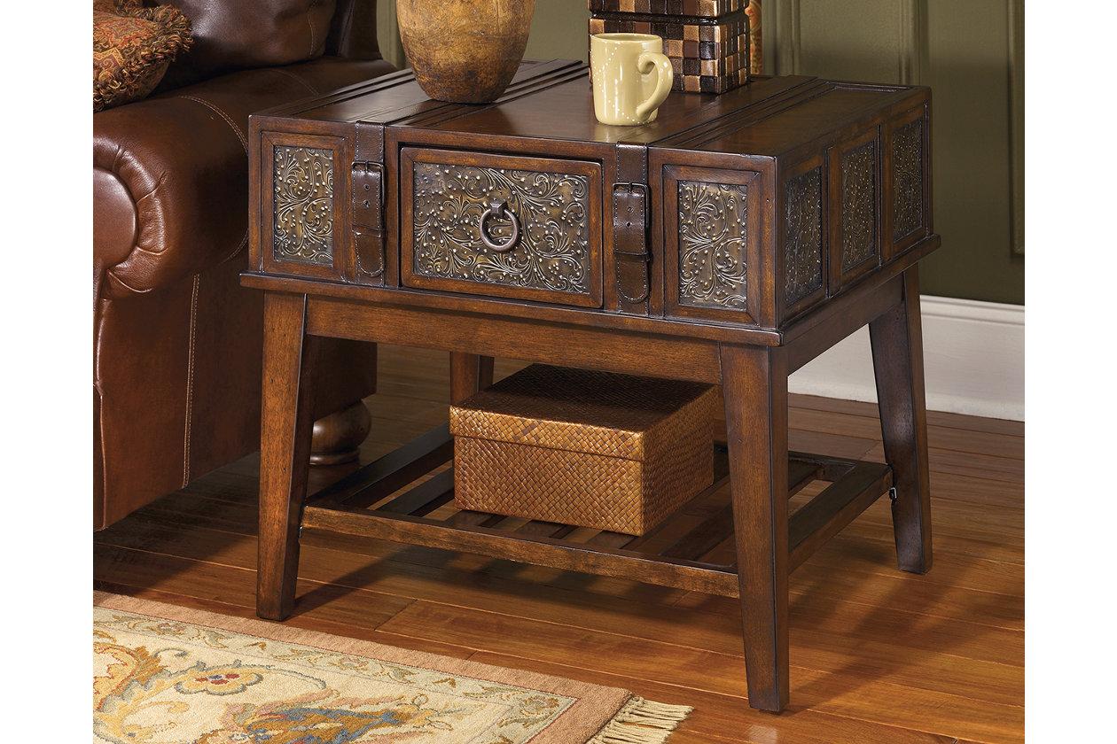 Brilliant Mckenna End Table Ashley Furniture Homestore Interior Design Ideas Gentotryabchikinfo