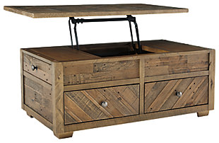Grindleburg Coffee Table with Lift Top, , large