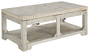Fregine Coffee Table with 1 End Table, , large
