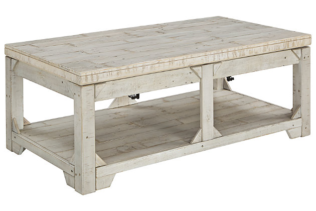 Fregine Coffee Table with Lift Top, , large