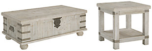 Carynhurst Coffee Table with 1 End Table, , large