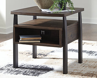 Vailbry End Table, , rollover