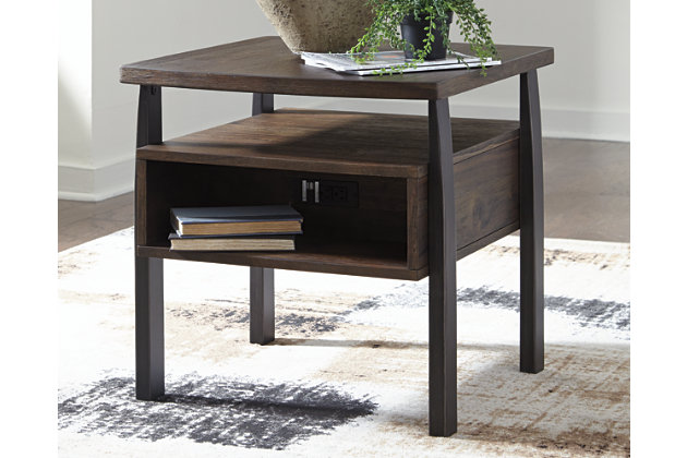 Vailbry End Table, , large