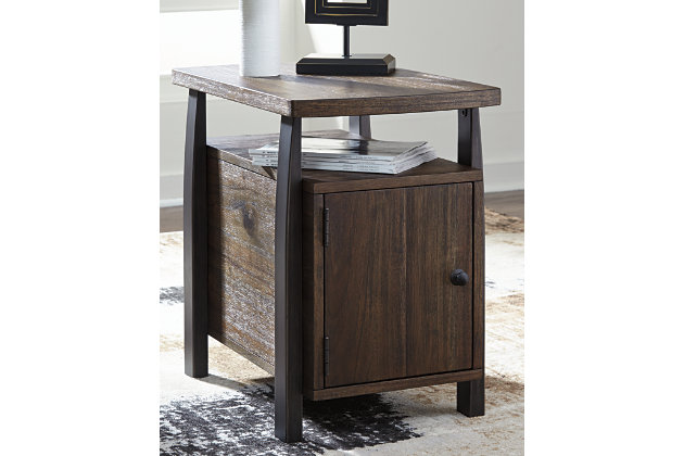 Vailbry Chairside End Table, , large