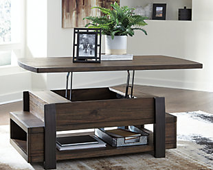 Vailbry Coffee Table with Lift Top, , rollover