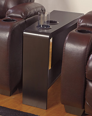 Carlyle Chairside End Table with USB Ports & Outlets, , large
