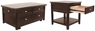 Carlyle Coffee Table with 1 End Table, , large