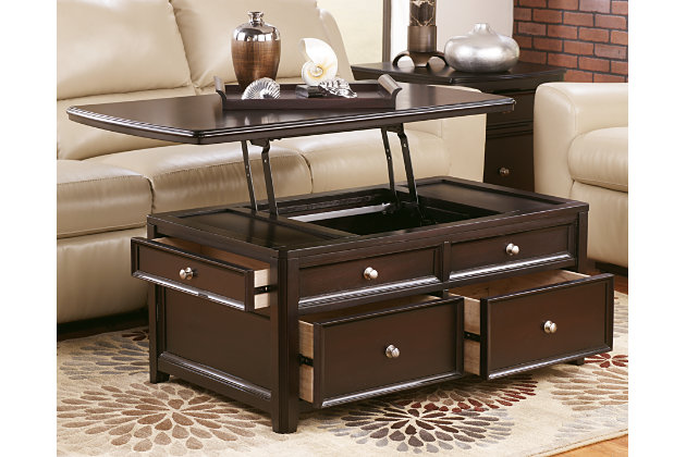 Carlyle Coffee Table With Lift Top Large