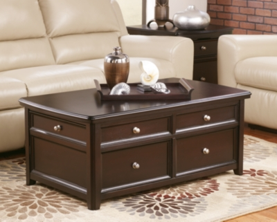 Carlyle Coffee Table with Lift TopAshley Furniture HomeStore