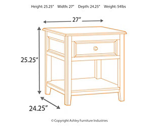 Carlyle 2 End Tables, , large
