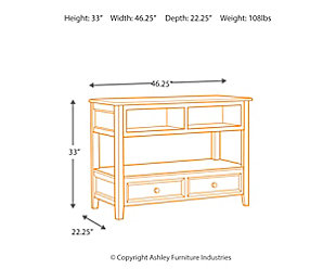 Carlyle Sofa/Console Table, , large