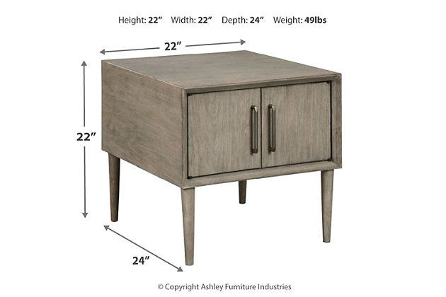 Asterson End Table, , large