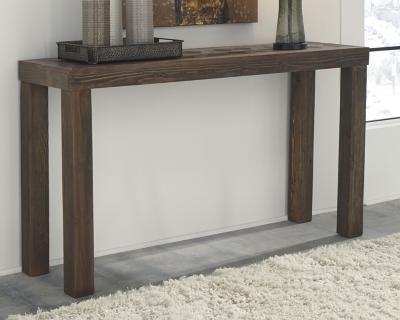 Ashley Ossereene Sofa/Console Table, Brown