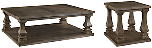 Johnelle Coffee Table with 1 End Table, , large