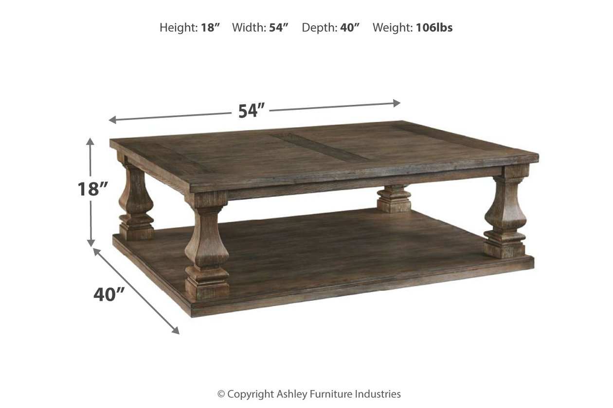 Johnelle Coffee Table Ashley Furniture Homestore