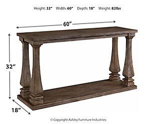 Johnelle Sofa Table, , large