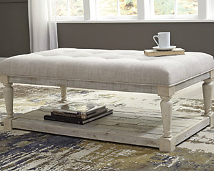 Coffee Table Ottoman.Shawnalore Coffee Table Ottoman Ashley Furniture Homestore
