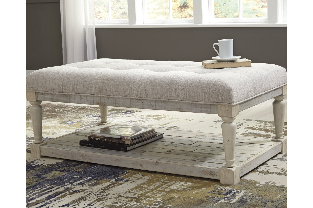 Shawnalore Coffee Table Ottoman | Ashley Furniture HomeStore