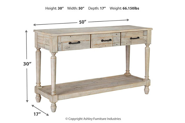 Shawnalore Sofa/Console Table, , large