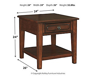 Adinton End Table, , large