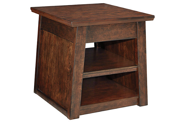 Harpan End Table by Ashley HomeStore, Brown
